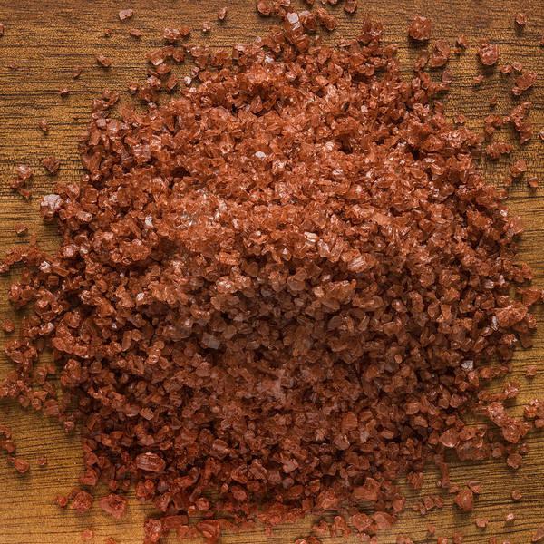 Herbs Photograph - Red Gold Hawaiian Sea Salt by Steve Gadomski