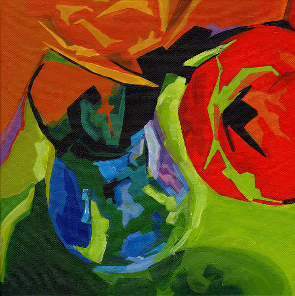 Painting - Red Tulip by Tanya Filichkin