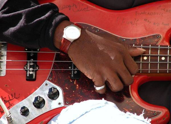 Photograph - Red Guitar by Cleaster Cotton