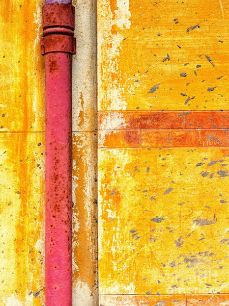 Photograph - Red Gutter by Silvia Ganora