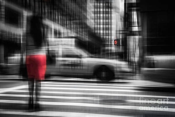 Photograph - RED by Hannes Cmarits