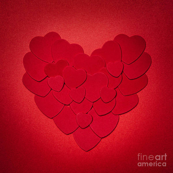 Photograph - Red Heart by Elena Elisseeva