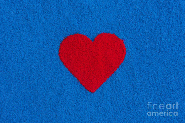 Photograph - Red Heart by Tim Gainey