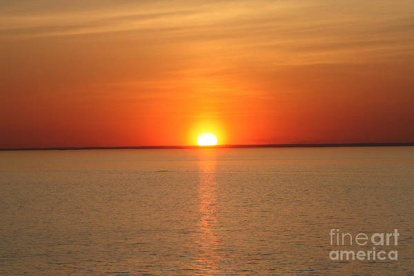 Canon Rebel Photograph - Red-hot Sunset by John Telfer