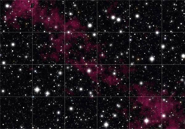 Orion Digital Art - Red Hydrogen Nebula In Deep Space by Daniel Hagerman