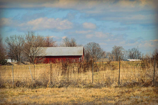 Photograph - Red Kentucky Relic by Paulette B Wright