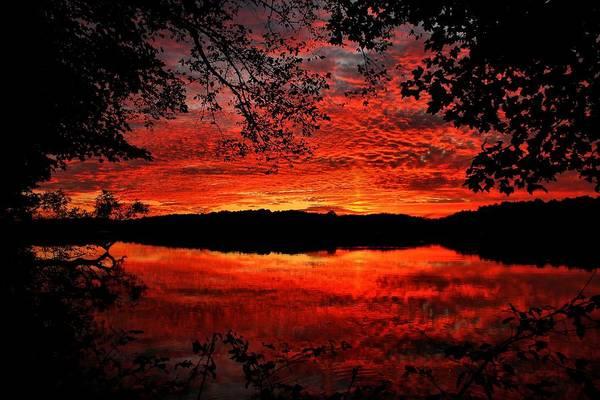 Brian Wilson Wall Art - Photograph - Red Lake by Brian Wilson