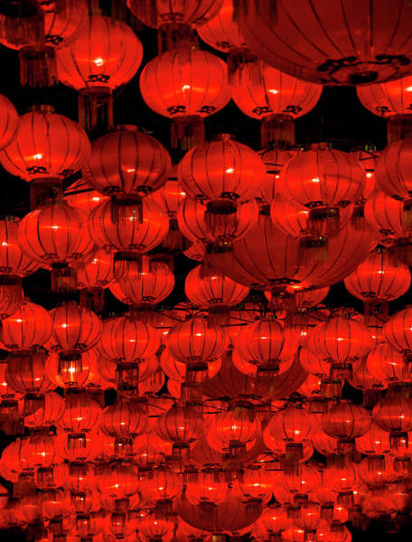 Chinese New Year Photograph - Red Lanterns by Dan Huntley Photography