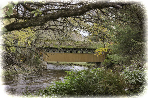Wall Art - Photograph - Red Mill Covered Bridge by Thomas Young