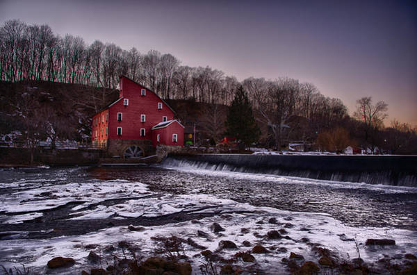 Wall Art - Photograph - Red Mill Museum by Ryan Crane