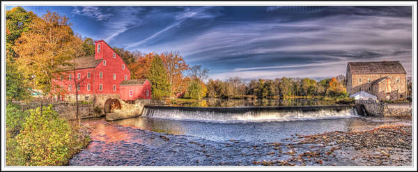 Wall Art - Photograph - Red Mill Pano by Geraldine Scull