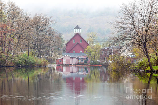 Photograph - Red Mill by Susan Cole Kelly