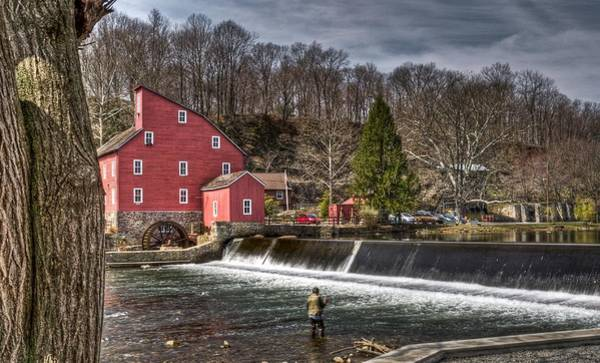 Wall Art - Photograph - Red Mill2 by Ryan Crane