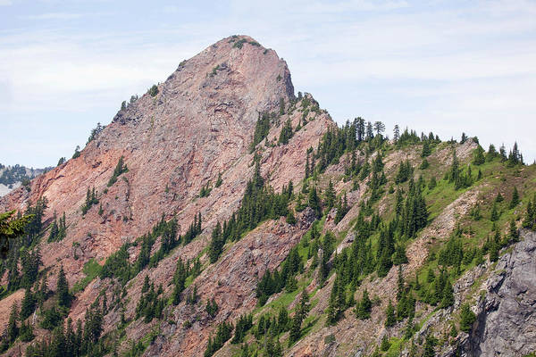 Kittitas County Wall Art - Photograph - Red Mountain As Seen From The Pacific by Mike Kane