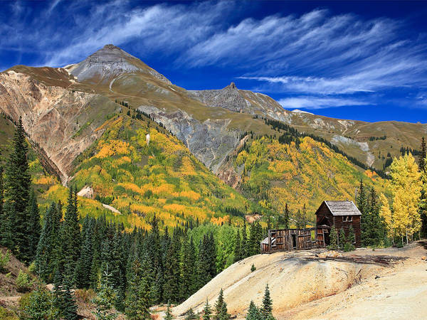 Photograph - Red Mountain Mine by Robert Yone