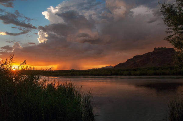 Photograph - Red Mountain Monsoon by Tam Ryan