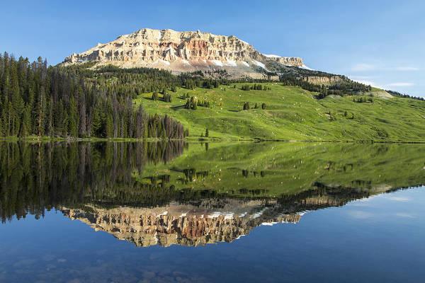 Photograph - Red Mountain Reflection by D Robert Franz