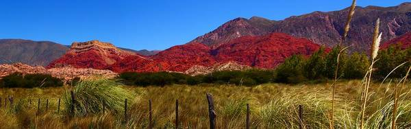 Wall Art - Photograph - Red Mountains by FireFlux Studios