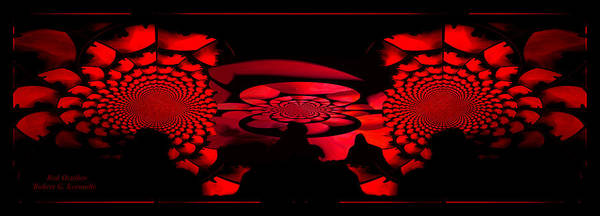 Photograph - Red October by Robert Kernodle