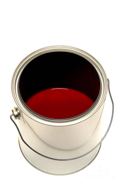 Photograph - Red Paint by Olivier Le Queinec
