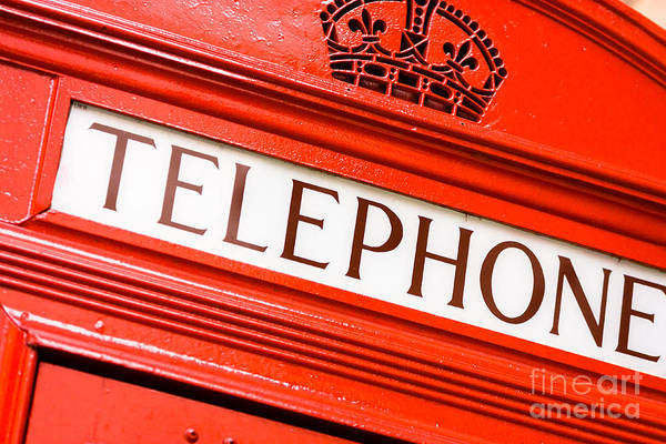 Photograph - Red Phone Box by Andy Myatt