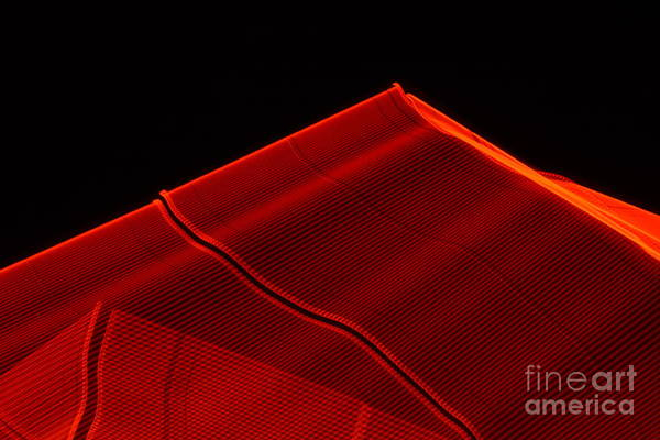 Photograph - Red Pyramids 1 by Gerald Grow