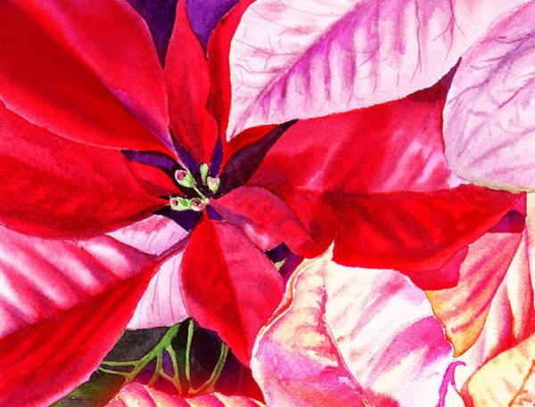 Wall Art - Painting - Red Red Christmas by Irina Sztukowski