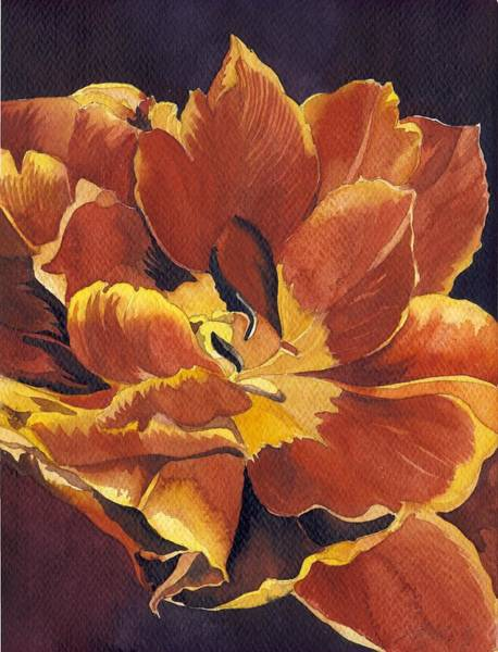 Painting - Red Red Tulip by Alfred Ng