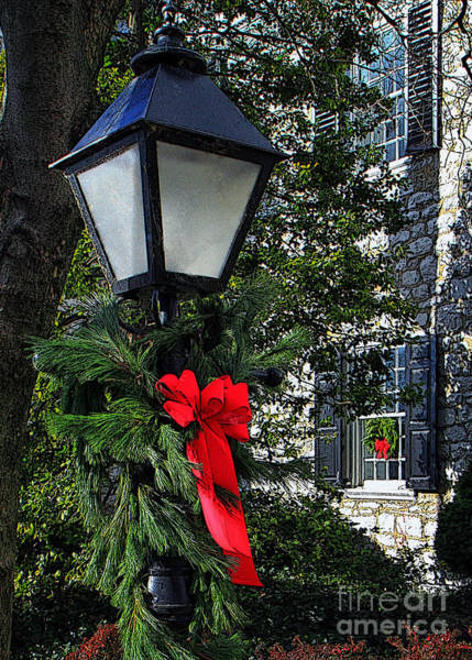 Photograph - Red Ribbon Christmas by Geoff Crego