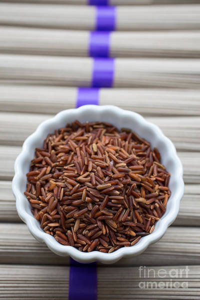Rice Photograph - Red Rice by Edward Fielding
