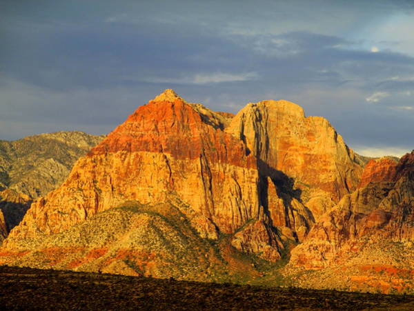 Box Canyon Wall Art - Photograph - Red Rock Canyon 2014 Number 1 by Randall Weidner