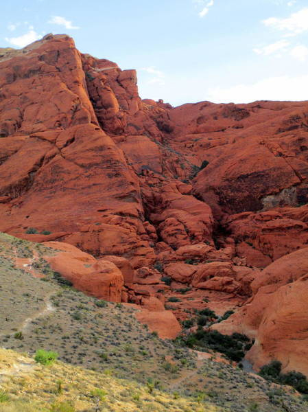 Box Canyon Wall Art - Photograph - Red Rock Canyon 2014 Number 14 by Randall Weidner