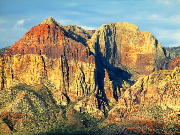 Box Canyon Wall Art - Photograph - Red Rock Canyon 2014 Number 18 by Randall Weidner