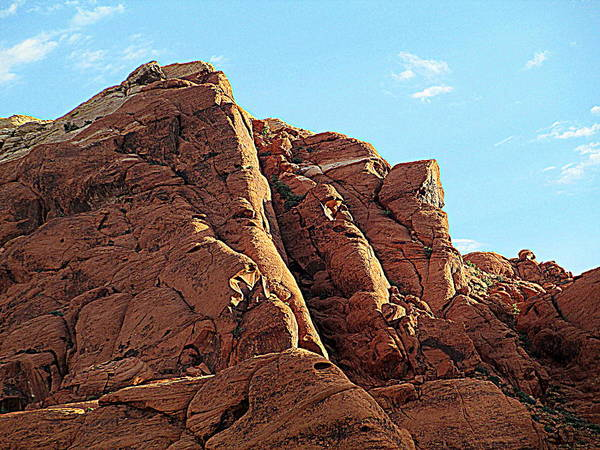 Box Canyon Wall Art - Photograph - Red Rock Canyon 2014 Number 19 by Randall Weidner
