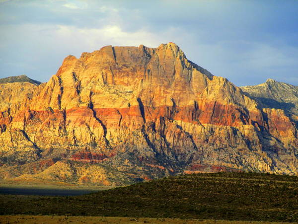 Box Canyon Wall Art - Photograph - Red Rock Canyon 2014 Number 2 by Randall Weidner