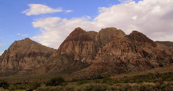 Box Canyon Wall Art - Photograph - Red Rock Canyon 2014 Number 26 by Randall Weidner