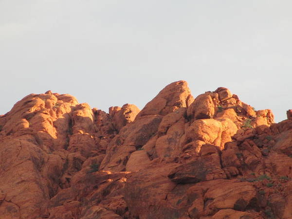 Box Canyon Wall Art - Photograph - Red Rock Canyon 2014 Number 6 by Randall Weidner