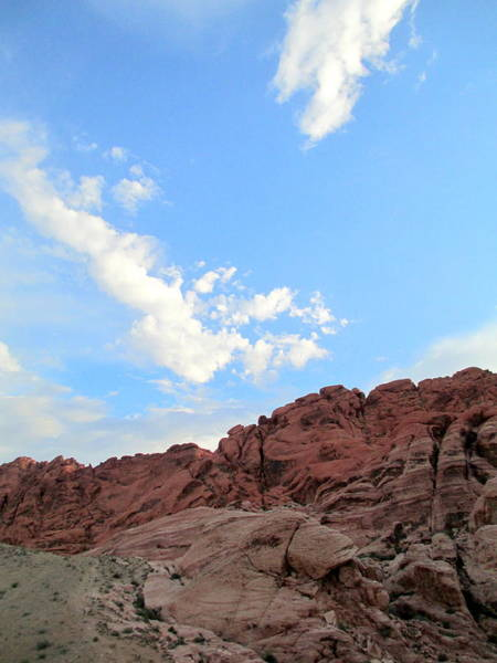 Box Canyon Wall Art - Photograph - Red Rock Canyon 2014 Number 9 by Randall Weidner