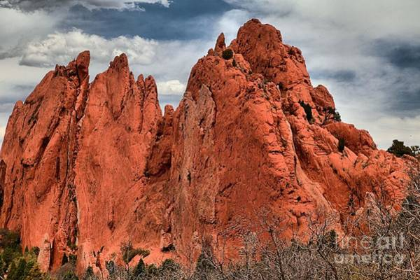 Photograph - Red Rock Cluster by Adam Jewell