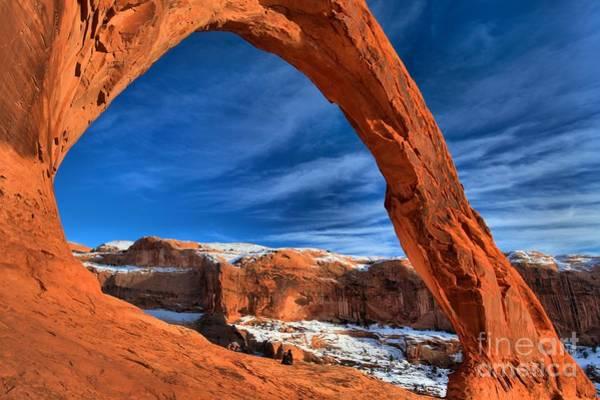 Photograph - Red Rock Corona by Adam Jewell