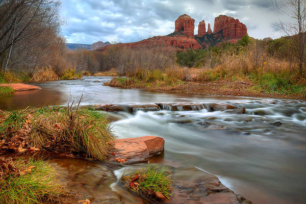 Photograph - Red Rock Crossing by Ryan Smith