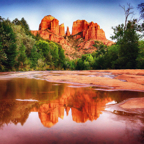 Photograph - Red Rock State Park - Cathedral Rock by Bob and Nadine Johnston