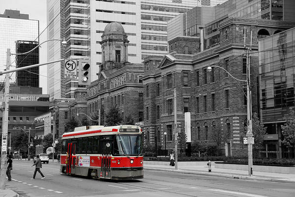 Toronto Photograph - Red Rocket 36c by Andrew Fare