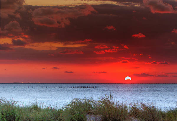 Photograph - Red Sky At Night by Pete Federico