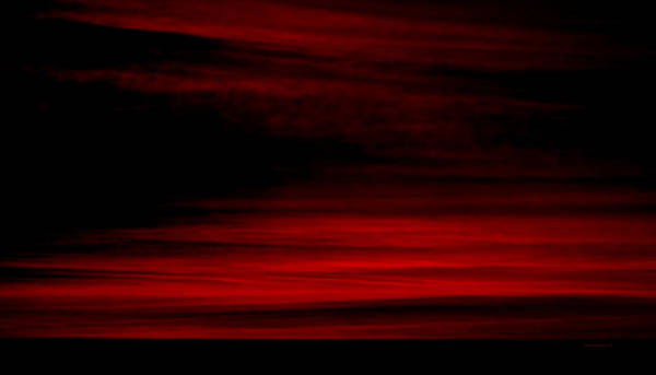 Cloud Cover Mixed Media - Red Sky At Night Saliors Delight Textured by Thomas Woolworth