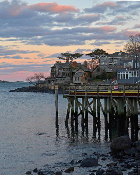 Photograph - Red Sky Over Marblehead by Toby McGuire