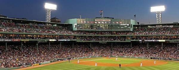 Red Sox Photograph - Red Sox And Fenway Park  by Juergen Roth