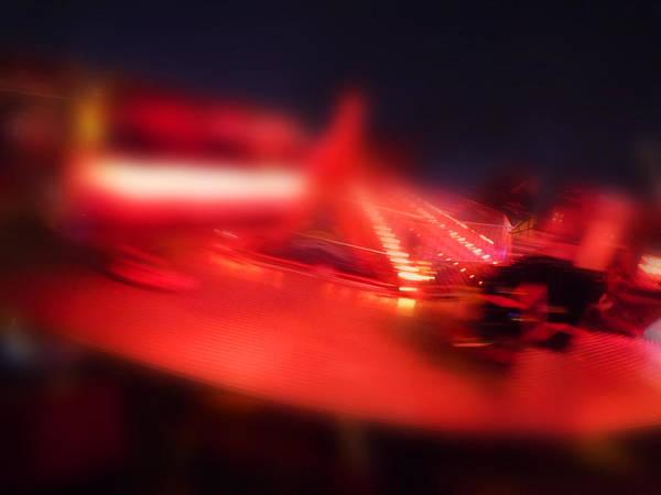 Digital Art - Red Spinner by Charles Stuart