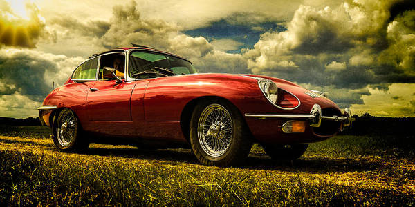 Photograph - Red Sports Car by Chris Lord