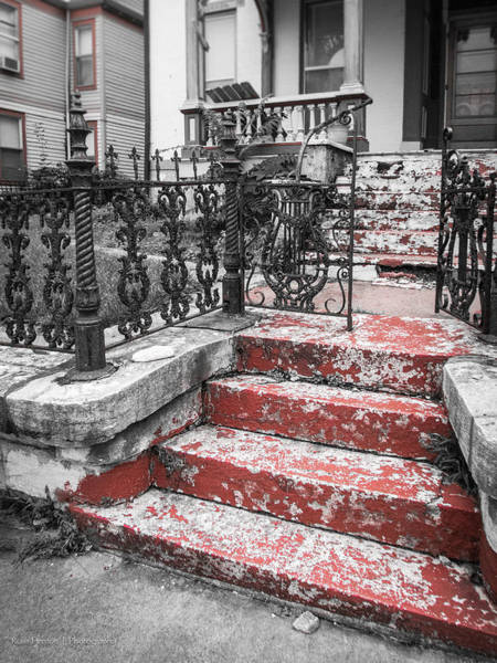 Photograph - Red Steps by Ross Henton